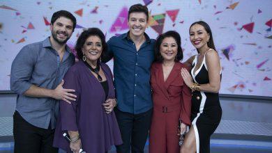 Sabrina Sato e Duda Nagle estão no Hora do Faro crédito: Edu Moraes/ Record TV