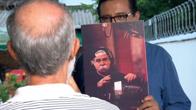 Afastado da TV, o cinegrafista Renatão, que ficou famoso ao trabalhar com Faustão Foto/divulgação Record TV