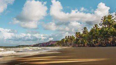 Praia do Coqueinho em João Pessoa na Paraíba