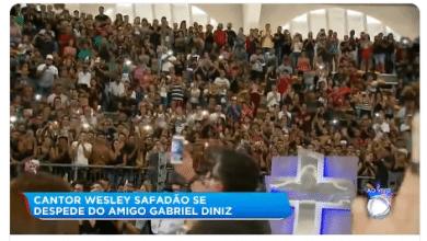Enterro de Gabriel Diniz acontece nesta tarde