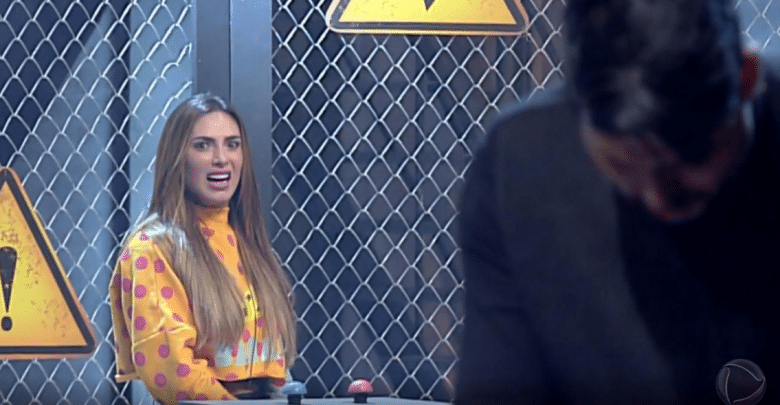 Nicole e Bimbi estão na DR do Power Couple Brasil 2019 (Foto/reprodução)