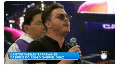 Wesley Safadão faz homenagem emocionante para Gabriel Diniz em velório