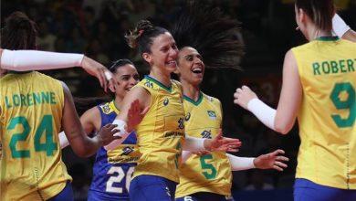 Celebração brasileira (Divulgação/FIVB)