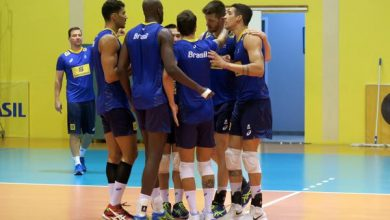 Seleção brasileira (Divulgação/CBV)