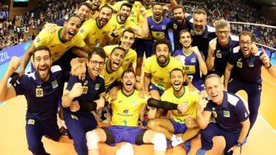 Brasil vence e garante vaga em Tóquio 2020 no vôlei masculino