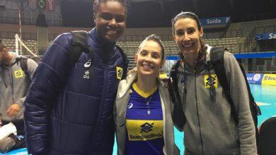 Fabiana, Camila Brait e Sheilla (Divulgação/CBV)