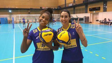 Lorenne e Sheilla (Divulgação/CBV)