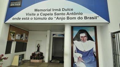 Canonização da Irmã Dulce Memorial de Irmã Dulce, na Cidade Baixa, retrata a trajetória da freira baiana. Foto: Jota Freitas - Setur- Bahiatursa.