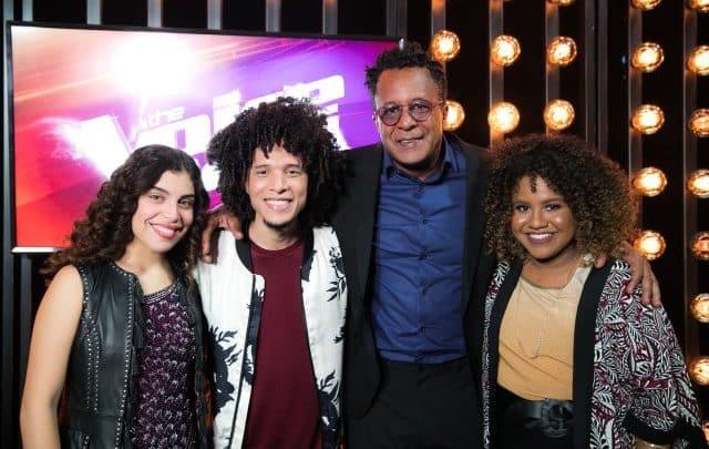 enquete Uol The Voice Brasil Foto: Lúcia Muniz, Willian Kessley, Tony Gordon e Ana Ruth, finalistas do 'The Voice Brasil' Crédito: Globo/Raquel Cunha