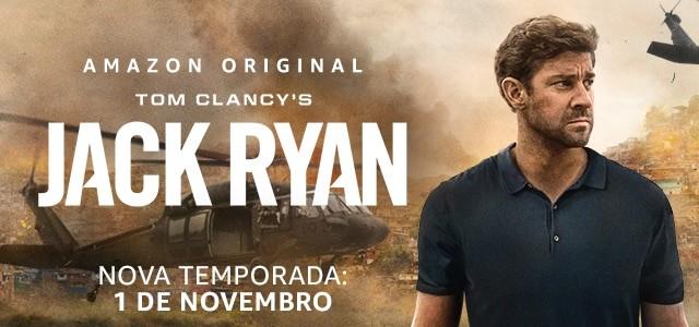 Nova temporada da série Jack Ryan já tem data de estreia na Amazon Prime Vídeos