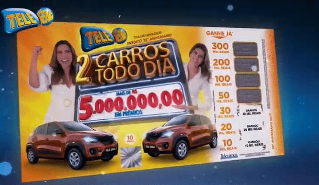 Tele Sena de Aniversário 2019 sorteia mais cinco números hoje