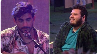 Victor Hugo para Guilherme do BBB 20: 'Você tá cantando pra mim ou pra ela?'; veja vídeo