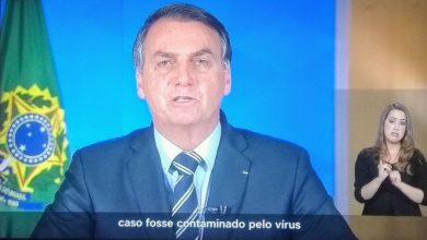 Bolsonaro sobre Coronavírus: 'Pelo meu histórico de atleta, caso fosse contaminado com o vírus, não precisaria me preocupar'