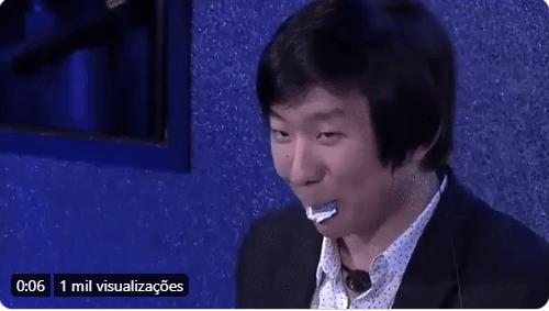 BBB 2020: Pyong faz mágicas em festa