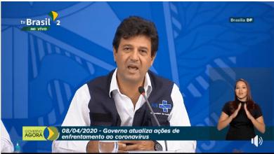 Em coletiva, Ministro Mandetta recomenda live de Marília Mendonça: 'Ficamos mais fãs'