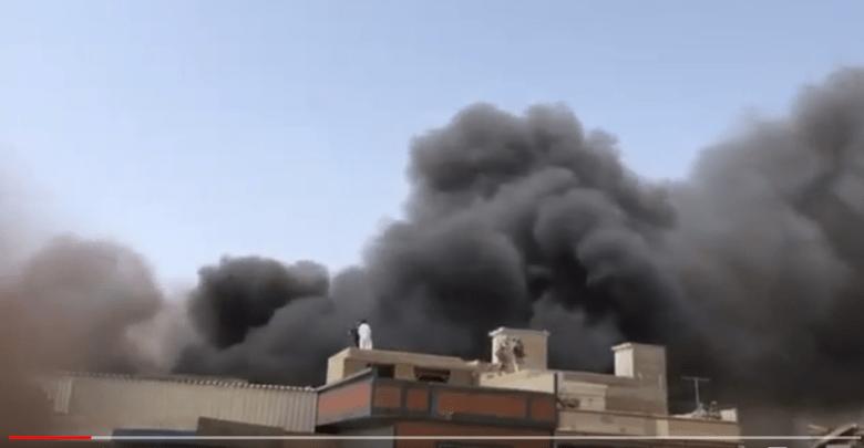 Abião caiu em área residencial, com mais de 100 pessoa a bordo