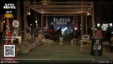 Cavalo rouba a cena na live de Flávio Brasil e vídeo viraliza